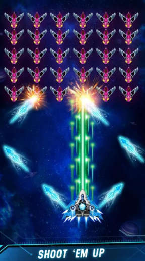 Space Shooter Galaxy Attack Mod Apk 2