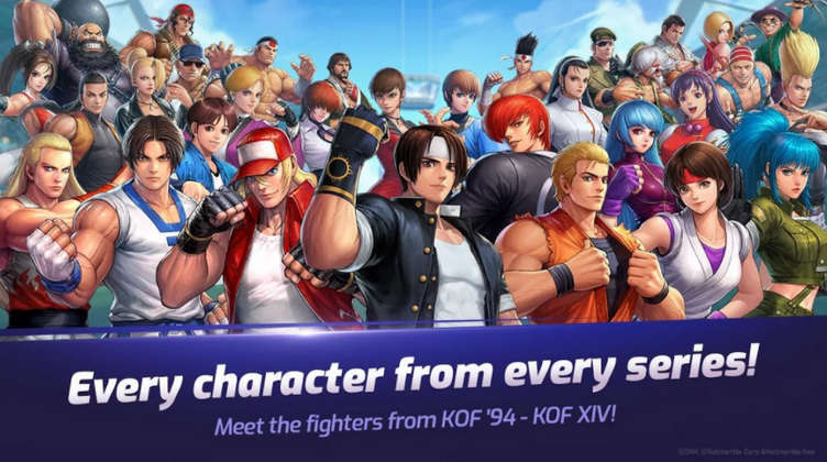 The King of Fighters ALLSTAR Mod Apk 2